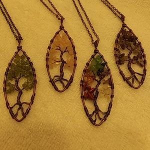 Jewelry - Chakra tree of life